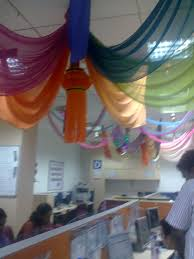 Cubicle Decoration Themes In Office For Diwali by And My Life Goes On October 2011