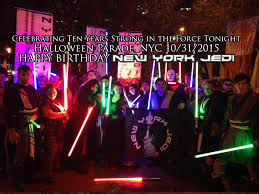 Greenwich Village Halloween Parade Youtube by 10 Years Of New York Jedi New York Jedi