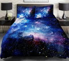 Blue Tie Dye Bedding by Green Galaxy Bedding Blue Cloud Space Duvet Cover Popular Bedding