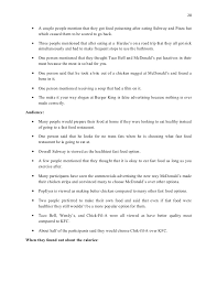 Kfc Research Analysis