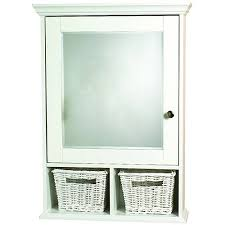 Zenith Medicine Cabinet Replacement Shelves by Zenith Medicine Cabinet With Baskets Wood White Walmart Com