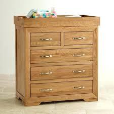Enchanting Natural Dresser Natural Solid Oak Dresser Changing Oak
