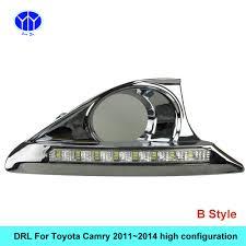car drl kit for toyota camry 2011 2012 2013 2014 led daytime