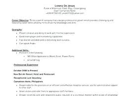 Best Objective On Resume Examples For Dental Receptionist With Job