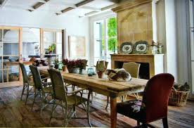 Astonishing Incredible Dominant White Kitchen Design Is Flawless To Combine Modern Rustic Dining Room Tables Table