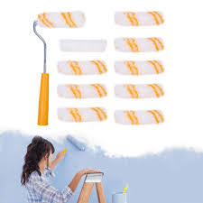 GoodGreat [Ready Stock&Rapid Transportation] DIY House Decoration 4'' Mini  Paint Roller With 10 Pcs Replacement Roller Covers, Corrosion Resistance ... Revived Childs Chair Painted High Chairs Hand Painted Weaver With A Baby In High Chair Date January 1884 Angle Portrait Adult Student Pating Stock Photo Edit Restaurant Chairs Whosale Blue Ding Living Room Diy Paint Digital Oil Number Kit Harbor Canvas Wall Art Decor 3 Panels Flower Rabbit Hd Printed Poster Yellow Wooden Reclaimed And Goodgreat Ready Stockrapid Transportation House Decoration 4 Mini Roller 10 Pcs Replacement Covers Corrosion Resistance 5 Golden Tower Fountain Abstract Unframed Stretch Cover Elastic Slipcover Modern Students Flyupward X130 Large Highchair Splash Mwaterproof Nonslip Feeding Floor Weaning Mat Table Protector Washable For Craft