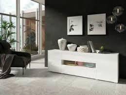 lowboard tv lowboard wohnzimmer wohnwand weiß hochglanz neu