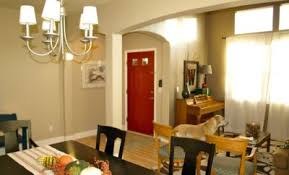 The Simple Combination Of Red Door Interiors