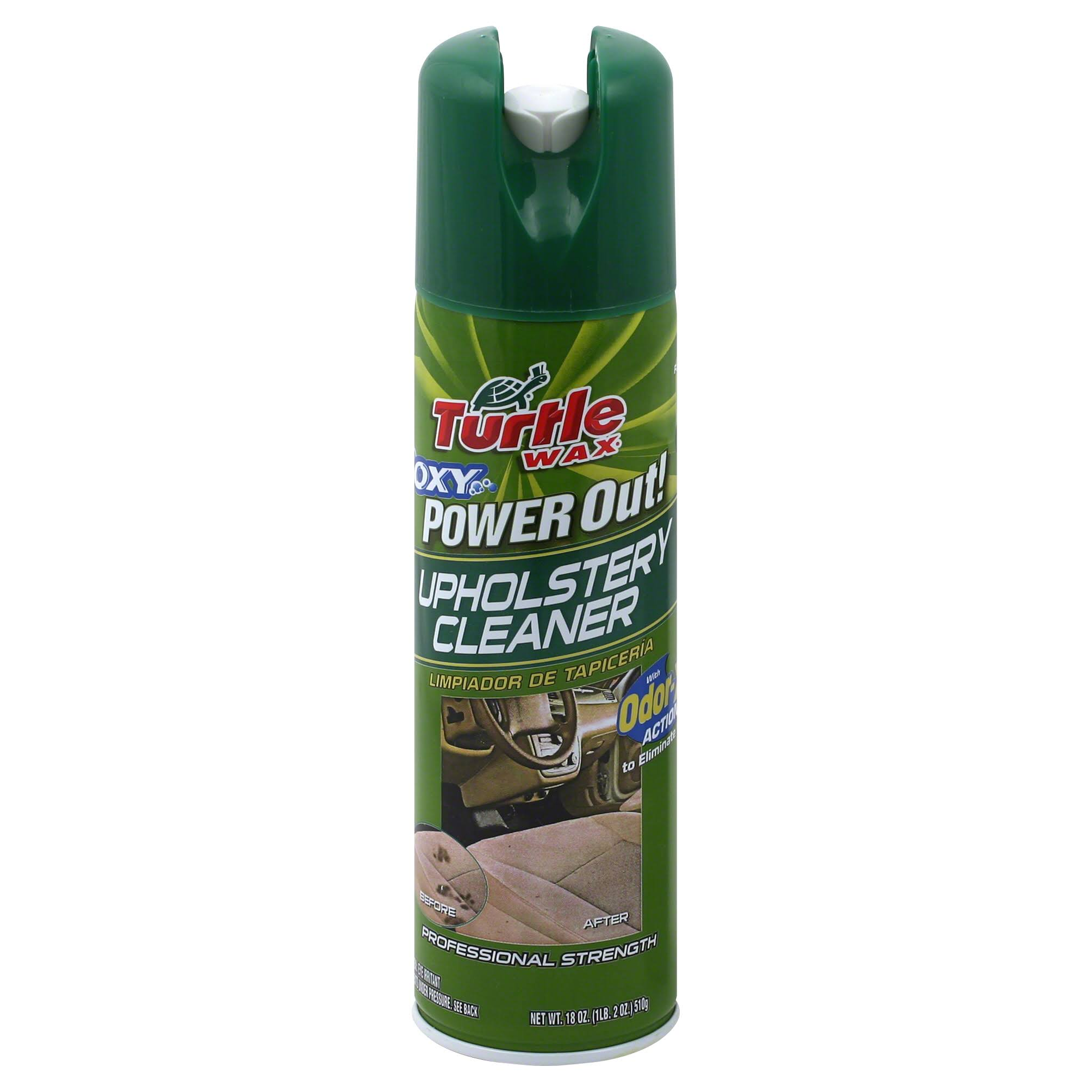 Turtle Wax Power Out! Odor Eliminator Upholstery Cleaner - 18oz