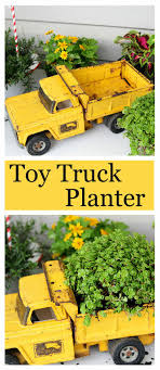 Keep On Trucking: Fun Upcycled Planter Idea   Toy Trucks, Yard ... Western Star Truck Photos American National Toy Trucks For Sale Free Appraisals Antique Buddy L Fire Wanted Bruder Toys Big Farm Outback Store Chevy Tow Youtube Museum Welcome To The Racing Champions Monster Jams Posters More For Sale Keystone Offical Website Wyatts Custom Dodge Morrisons Articulated Truck Lorry