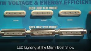 Video LEDLights MIBS 2015 LED Lights Demonstrated at the Miami