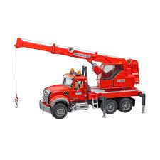 Review Dan Harga Bruder Toys 2826-MACK Granite Crane Truck With ...