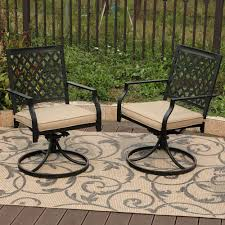 Stills Outdoor Metal Swivel Patio Dining Chair With Cushion Crosley Griffith Outdoor Metal Five Piece Set 40 Patio Ding How To Paint Fniture Best Pick Reports Details About Bench Chair Garden Deck Backyard Park Porch Seat Corentin Vtg White Mid Century Wrought Iron Ice Cream Table Two French White Metal Patio Chairs W 4 Chairs 306 Mainstays Jefferson Rocking With Red Choosing Tips For At Lowescom