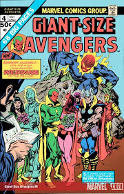 Weddings Of Mantis Swordsman And Vision Scarlet Witch 1975