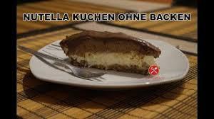 nutella kuchen ohne backen rezept