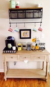 Soothing Kitchen Coffee Bar