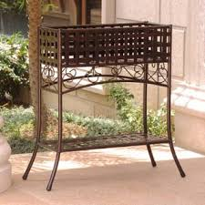 Metal Planters Outdoor Decor For Less