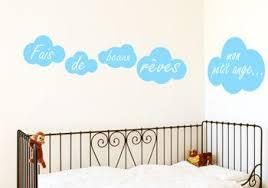 stickers chambre enfants stickers nuages pour chambre d enfant stickers muraux decorecebo