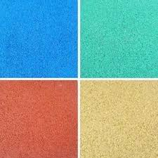 Bright Color EPDM Rubber Tiles Impact Absorbing Playground Flooring With EN1177 Norm
