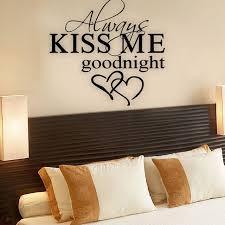 baise dans la chambre baiser toujours moi bonne nuit citation d amour stickers muraux