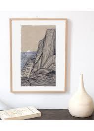 Matina Galati Sunset Limited Edition Print LAffiche Moderne Japan Is