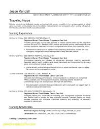 Bsn Resume Examples Luxury Inspirational Sample For New Nurses