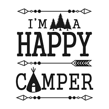 Silhouette Clipart Vintage Camper