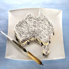 Lamington Cake For Australia Day 26th Jan Tip Use A Special Tin This Shape If You Can Get One And Make Tasmania From Patty