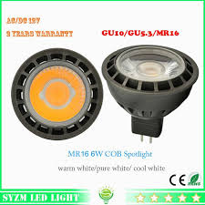 2018 12 volt led light bulbs mr16 6 watts spotlight cob high