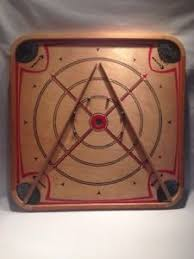 Image Is Loading Vintage Carrom Industries 124 Game Board W Box