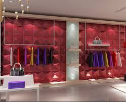 Clothing Shop Wall Design