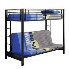 kid bunk bed twin over futon full bunk beds bedroom furniture