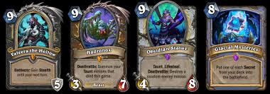 hearthstone knights of the frozen throne out now deck guides