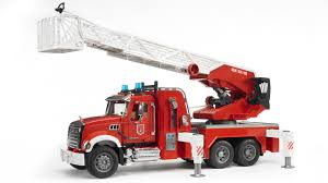 Mack Granite Fire Engine With Water Pump And Light & Sound #02821