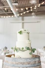 Creme Cupcake Wedding Cake