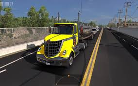 100 Lonestar Truck International AI Traffic V16 ATS Mods American