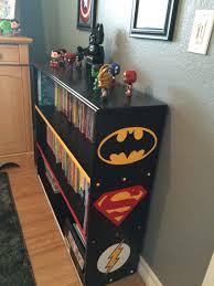 Superhero Bedroom Decorating Ideas by Superhero Bookshelf Alaina U0027s Superhero Room Pinterest