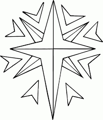 Christmas Stars Coloring Pages Best Resume Collection