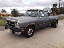 1992 Dodge Diesel 350 Extended Cab Dually Pickup - Classic Dodge Ram ...
