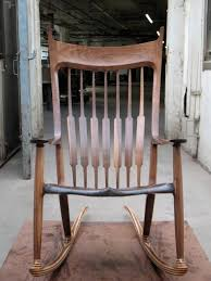Sam Maloof Rocking Chair Class by Maloof Rocking Chair Reproduction Finewoodworking