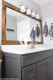 olssen stehle messing und schwarz badezimmerspiegel