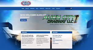 Check Us Out on the NHRA website