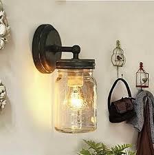 1 light retro loft style industrial edison vintage wall light l