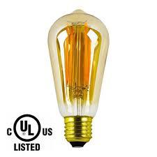 lightstory st18 dimmable edison bulb e26 vintage 2200k 4w 40w