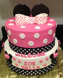 Baby Minnie Mouse Baby Shower Theme by Minnie Mouse Baby Shower Cake Baby Shower Pinterest