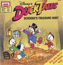 FileDuckTales Scrooges Treause Hunt Book Cover