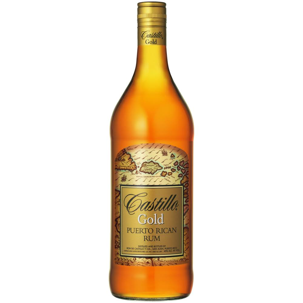 Castillo Gold Puerto Rican Rum - 750ml