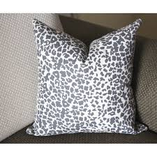 Gray pillow Ikat pillow modern pillow simple gray pillow Grey Ikat