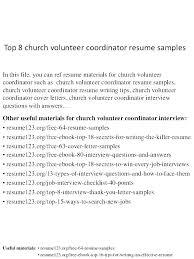Volunteer Resume Template Sample Recruiter Example Templates Word