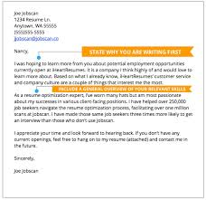 Prospecting Cover Letter Example